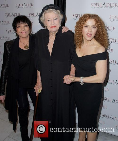 Liza Minnelli, Elaine Stritch and Bernadette Peters 7