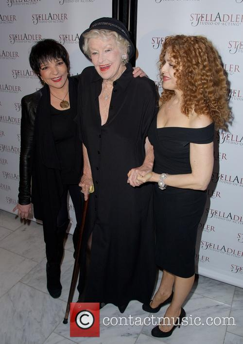 Liza Minnelli, Elaine Stritch and Bernadette Peters 9