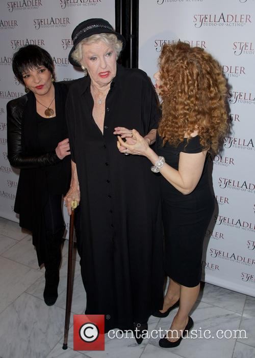 Liza Minnelli, Elaine Stritch and Bernadette Peters 10