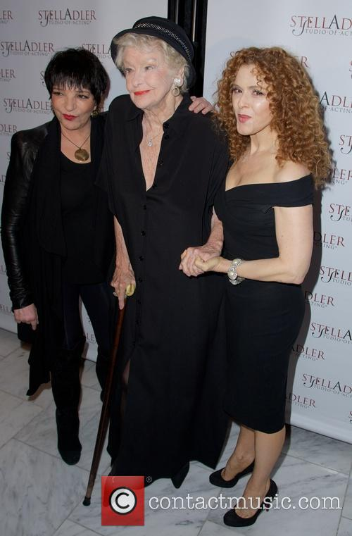 Liza Minnelli, Elaine Stritch and Bernadette Peters 11