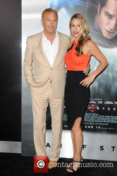 Christine Baumgartner and Kevin Costner 3