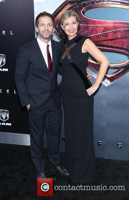 Zack Snyder and Deborah Snyder 5