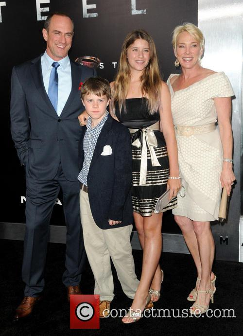 Christopher Meloni and Family 2