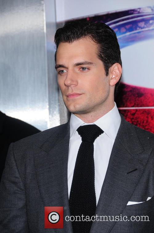 Henry Cavill, Man of Steel Premiere