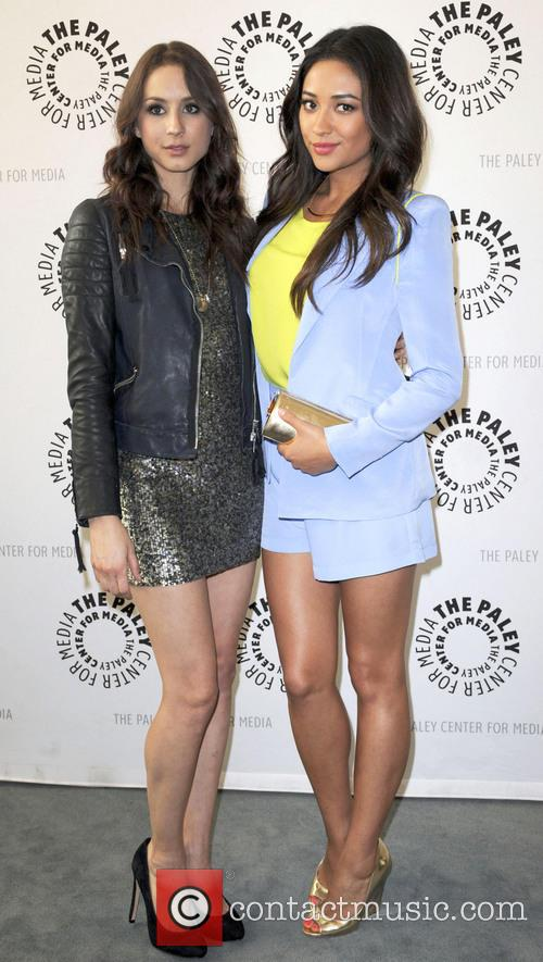 Troian Bellisario and Shay Mitchell 3