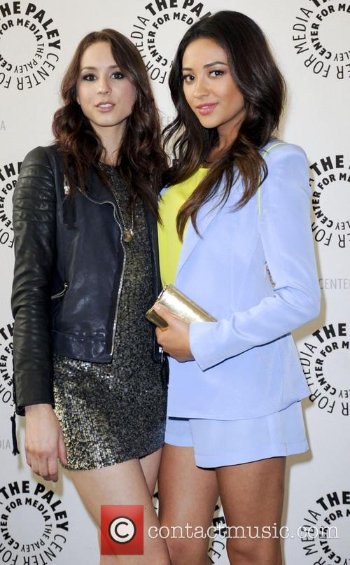 Troian Bellisario and Shay Mitchell 4