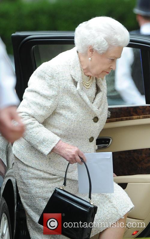 Queen Elizabeth II Visits Prince Philip