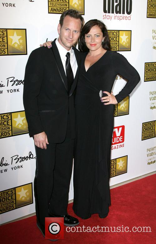 Patrick Wilson and Dagmara Dominczy