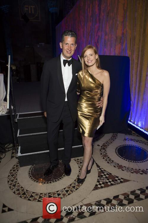 Stefano Tonchi and Jessica Chastain 4