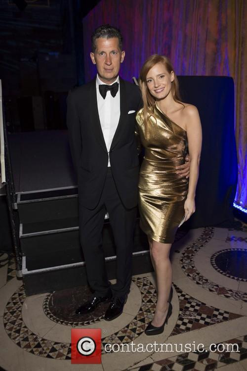 Jessica Chastain and Stefano Tonchi 6