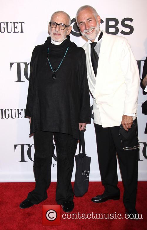 Larry Kramer at 2013 Tony Awards