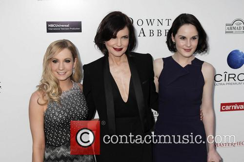 Joanne Froggatt, Elizabeth Mcgovern and Michelle Dockery 2