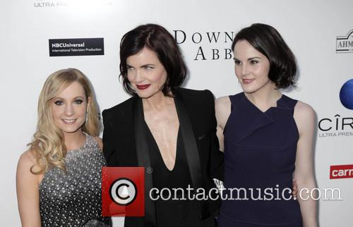 Joanne Froggatt, Elizabeth Mcgovern and Michelle Dockery 4