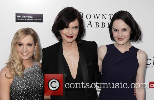 Joanne Froggatt, Elizabeth Mcgovern and Michelle Dockery 7
