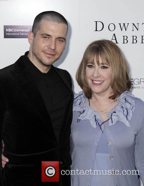 Rob James-collier and Phyllis Logan 6