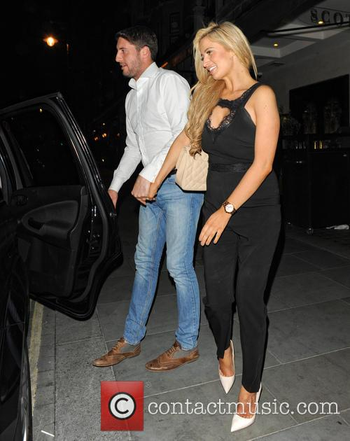 Chantelle Houghton and Nick Hogg 1