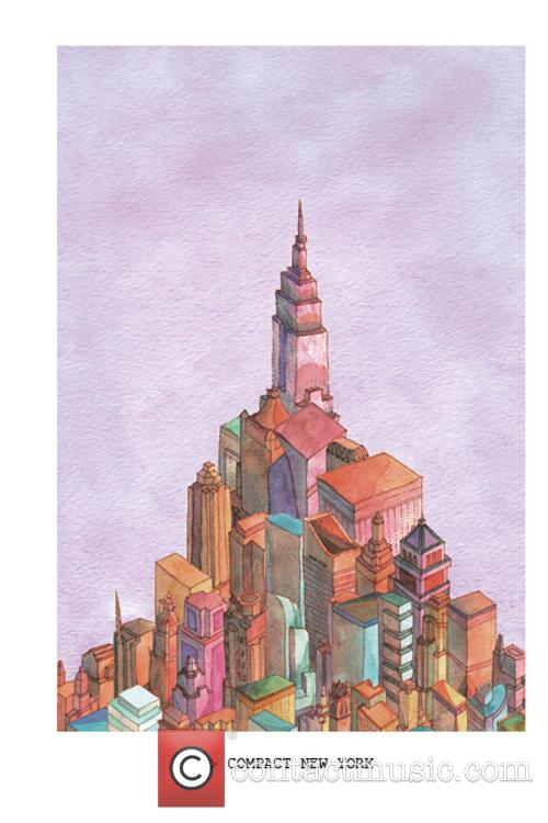 An illustrated book exploring imagined landscapes and topographies...