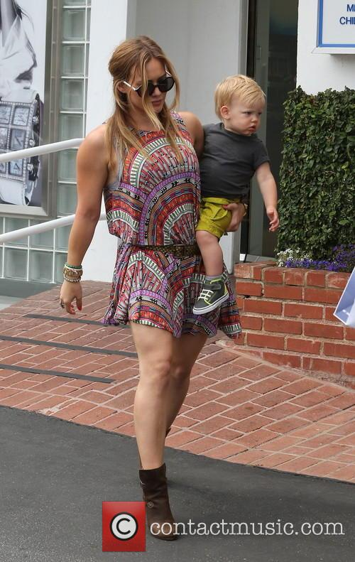 Hilary Duff and Luca Comrie 8