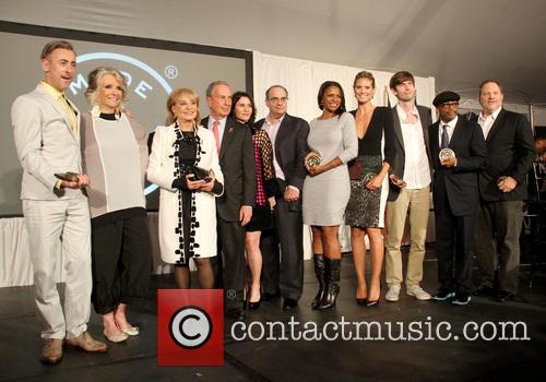 Honorees, Heidi Klum, Spike Lee, Barbara Walters, Harvey Weinstein and Alan Cumming 1