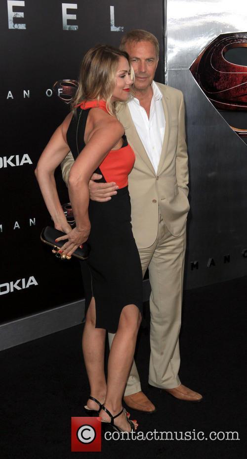 Christine Baumgartner and Kevin Costner 2