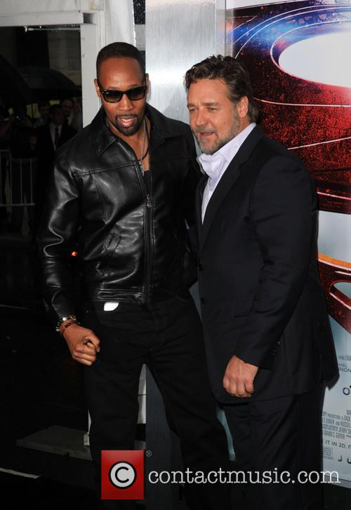 Rza and Russell Crowe