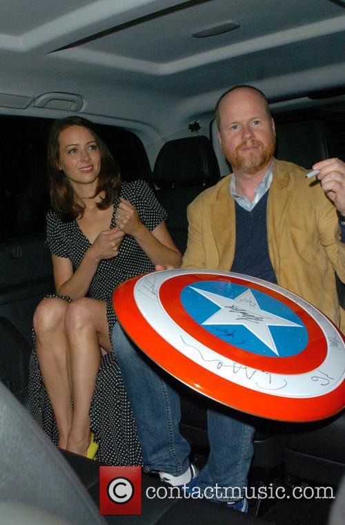 Joss Whedon and Amy Acker 1