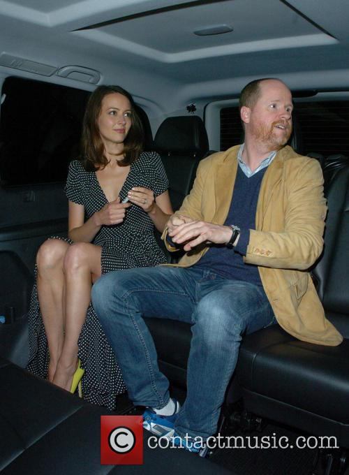 Joss Whedon and Amy Acker 2
