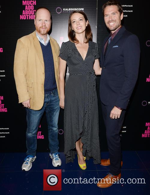 Joss Whedon, Amy Acker and Alexis Denisof 4