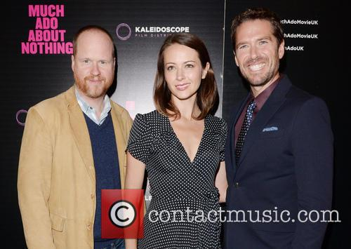 Joss Whedon, Amy Acker and Alexis Denisof 5
