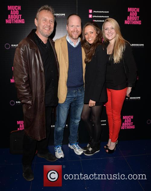 Joss Whedon with Anyhony, Daisy, Emily Head