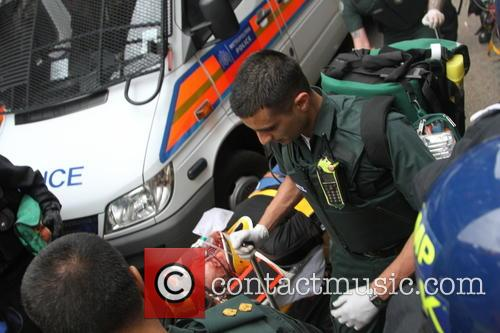 Squater seriously injured Golden Square