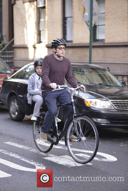 Matthew Broderick and son James Wilkie Broderick are...