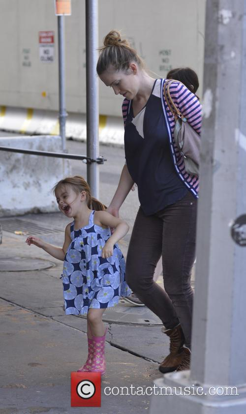 Sarah Jessica Parker's nanny takes her twin daughters...