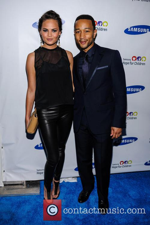 Chrissy Teigen and John Legend 2