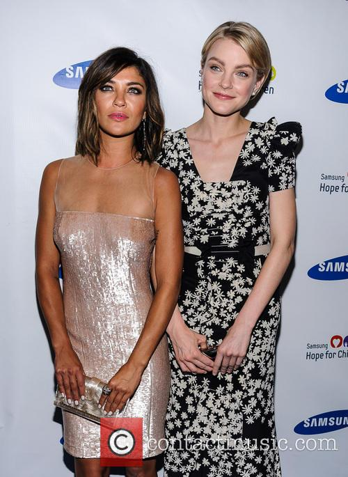 Jessica Szohr and Jessica Stam 8