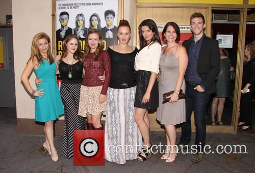 Christy Altomare, Blair Goldberg, Molly Ranson, Jeanna De Waal, Mackenzie Bell, Anne Tolpegin and Jake Boyd 3