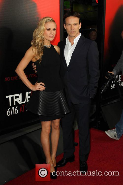 Anna Paquin and Stephen Moyer 7