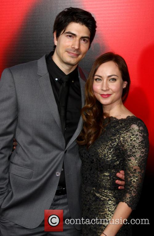 brandon routh courtney ford premiere of hbos true 3715420