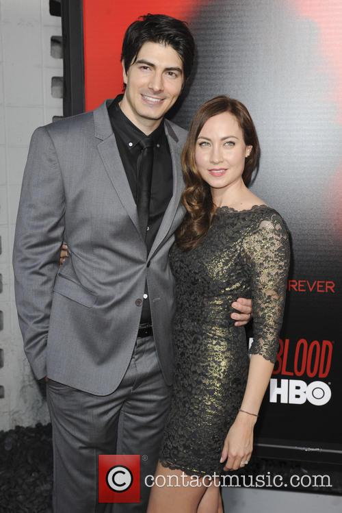 Brandon Routh and Courtney Ford 2