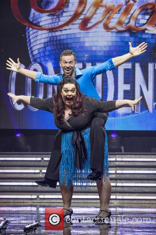 Lisa Riley and Artem Chigvintsev 1