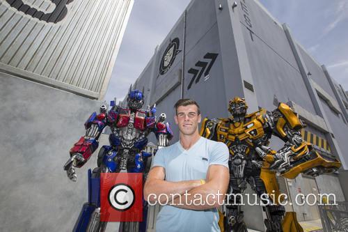 Gareth Bale Universal Studios Florida