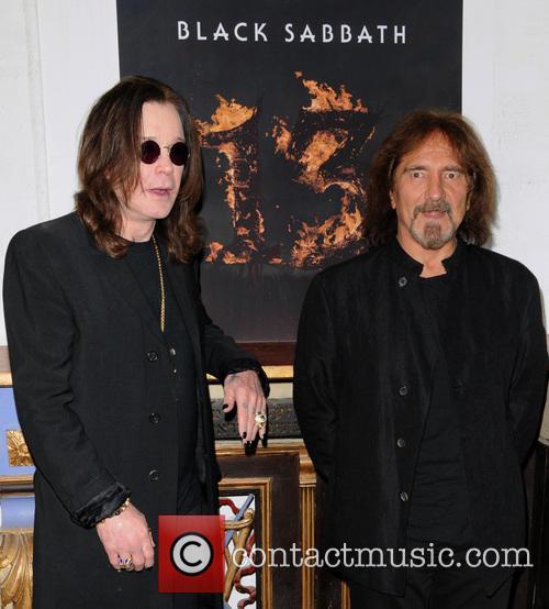 Ozzy Osbourne and Geezer Butler 2
