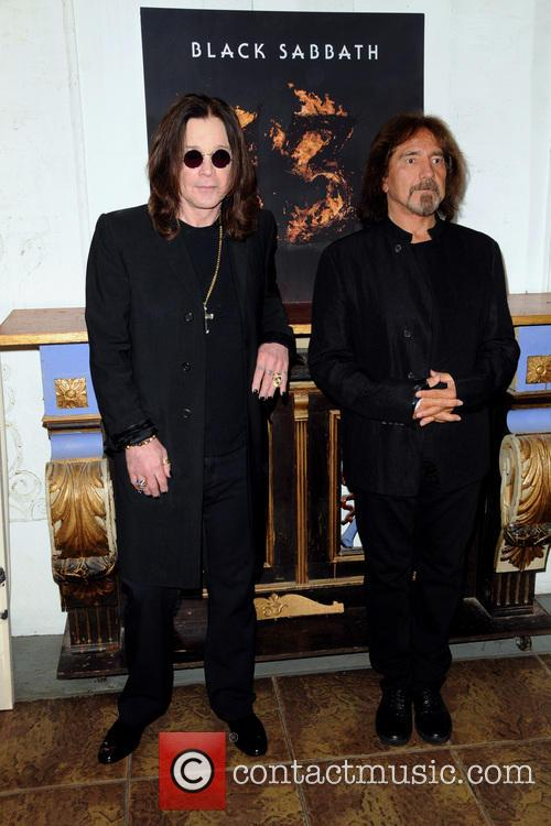 Ozzy Osbourne and Geezer Butler 5