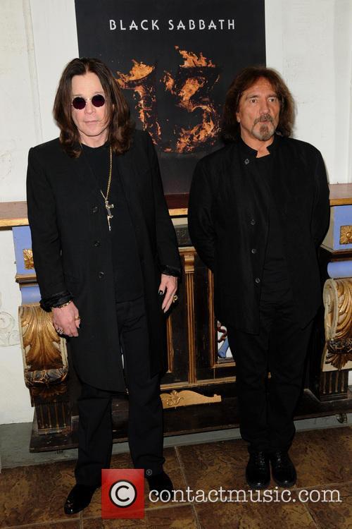 Ozzy Osbourne and Geezer Butler 6