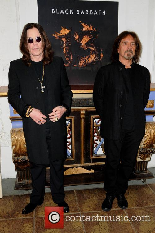 Ozzy Osbourne and Geezer Butler 8