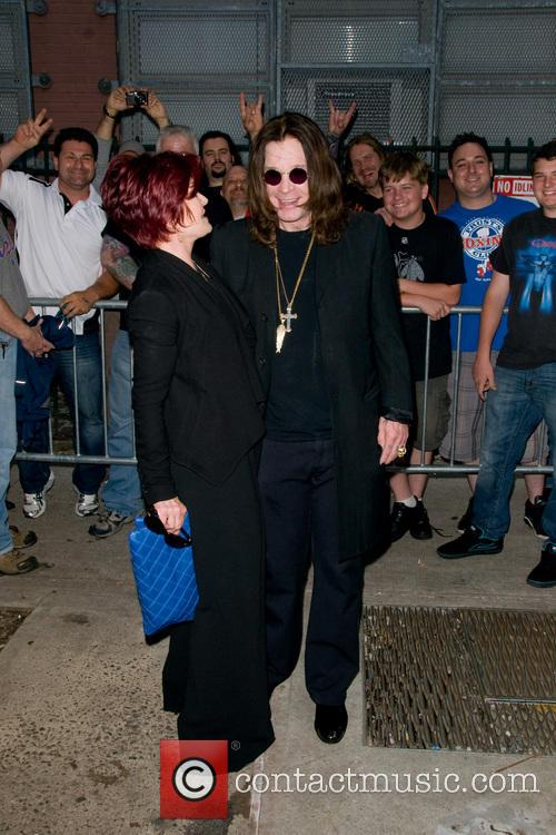 Ozzy Osbourne and Sharon Osbourne 11