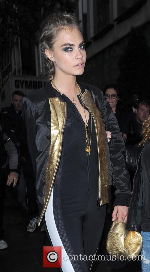 Cara Delevingne leaving her hotel