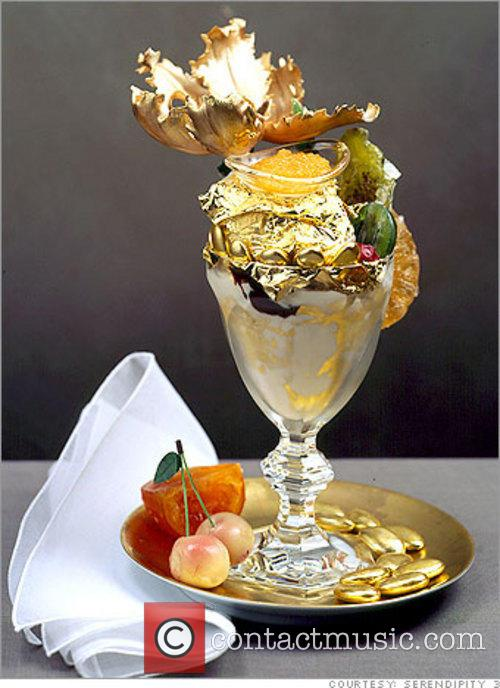 New York's most expensive Ice Cream Desert