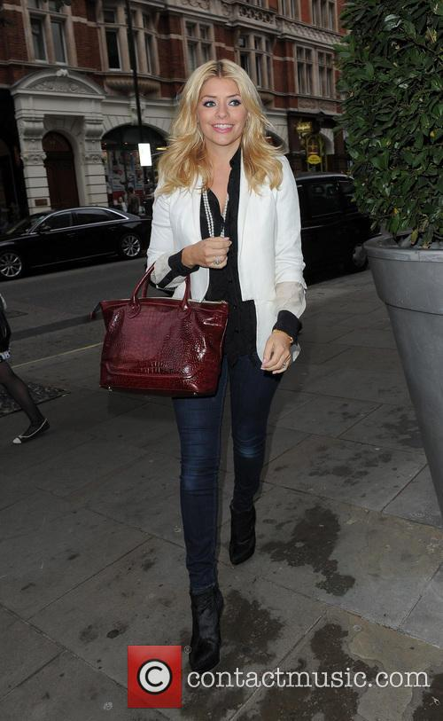 Holly Willoughby out and about in Central London