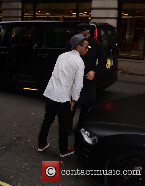 JLS is seen out and about in Mayfair